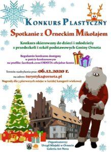Konkurs plastyczny - Spotkanie z Orneckim Mikołajem