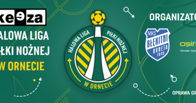 Halowa Liga Piłki Nożnej w Ornecie 2020