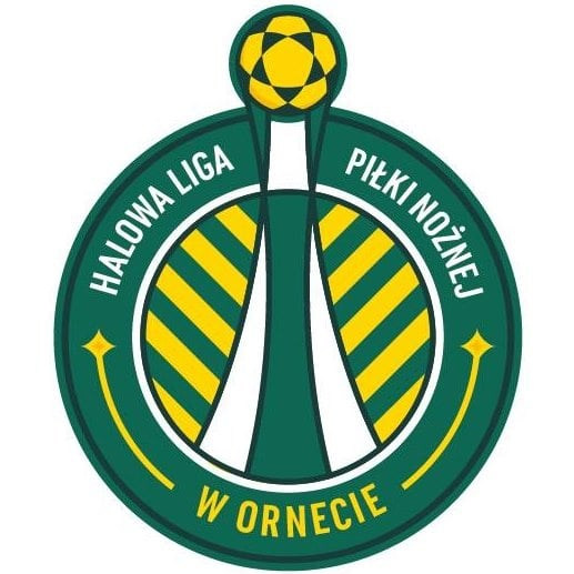 Oficjalne logo Halowej Ligi Piłki Nożnej w Ornecie 2020