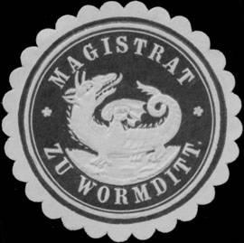 Pieczęć miejska funkcjonująca w okresie dwudziestolecia międzywojennego