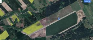 Lotnisko w Ornecie (widok satelitarny)