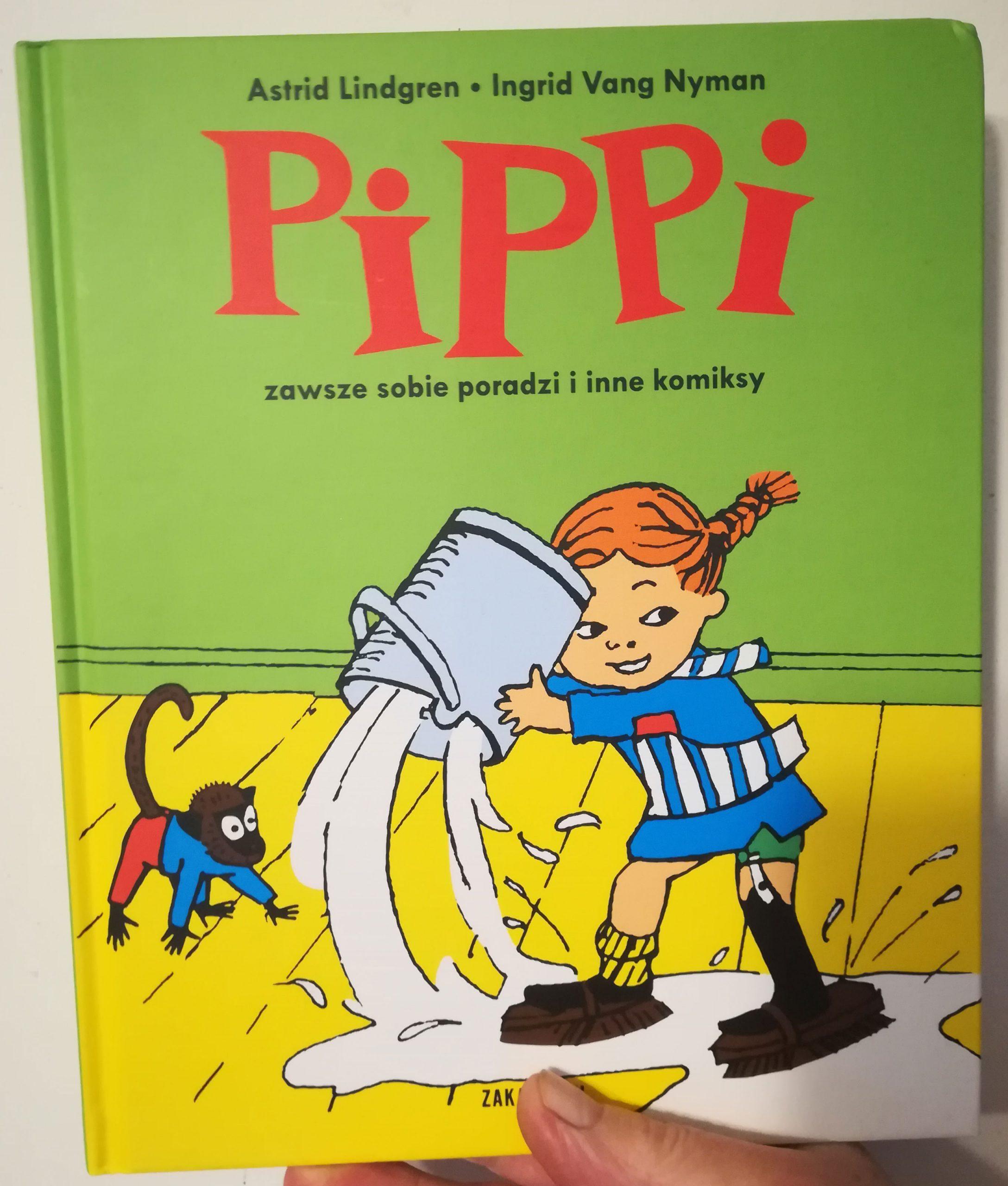 Pipi - zawsze sobie poradzi i inne komiksy