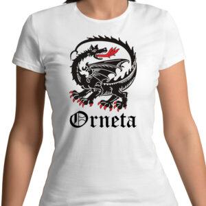 Koszulka damska - Smok Ornecki