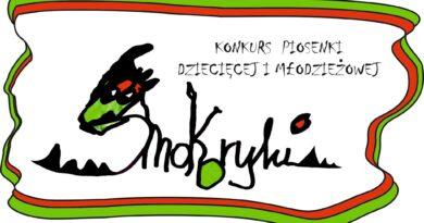 """Wojewódzki Konkurs Piosenki Dziecięcej i Młodzieżowej """"Smokoryki"""" 2021"""